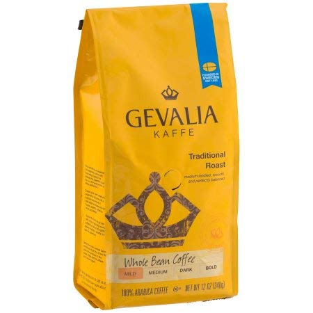 (Gevalia Traditional Roast Whole Bean Coffee (Pack of 4))