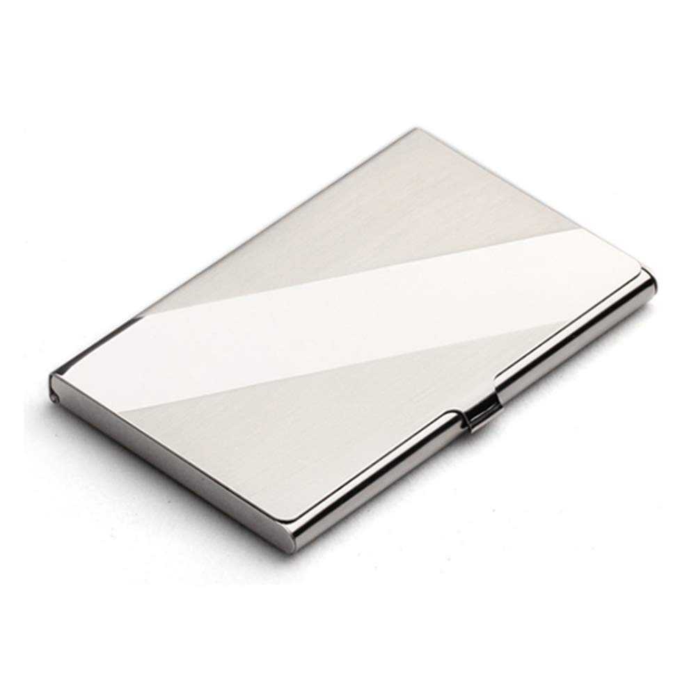 Rofessional Business Card Holder Business Card Case Stainless Steel Card Holder