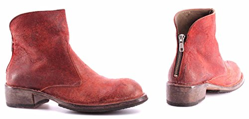 Pelle Boots Ankle Vari Femme ITA Bottines Chaussures D Moma Rossa Crosta Vintage qcgpUy0Wx
