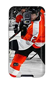 RobertWRay Scratch-free Phone Case For Galaxy S5- Retail Packaging - Philadelphia Flyers (42)