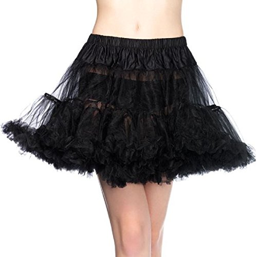 Leg Avenue Plus Size Petticoat, Black, 1X-2X for $<!--$14.00-->