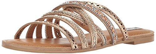 Not Rated Womens B Me Gladiator Sandal  Tan  7 5 M Us