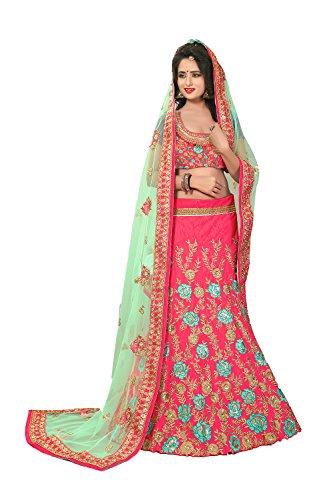 Choli Pink Da 5 Ethnic Traditional Partywear Lehenga Wedding Designer Indian Facioun 18Cqrw1T