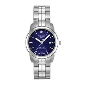 Tissot T0493072203100 - Reloj analógico de mujer de cuarzo con correa de acero inoxidable multicolor