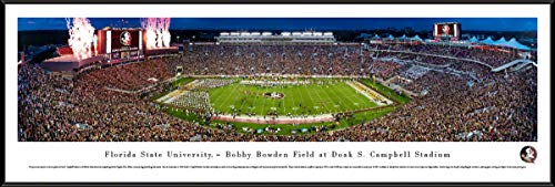 Florida State Seminoles Football - Standard Framed Print by Blakeway Panoramas