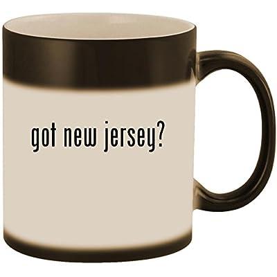 got new jersey? - 11oz Ceramic Color Changing Heat Sensitive Coffee Mug Cup