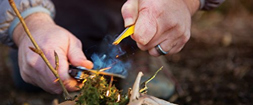 LEATHERMAN - Signal Camping Multitool with Fire Starter, Hammer, and Emergency Whistle, Stainless Steel by LEATHERMAN (Image #9)