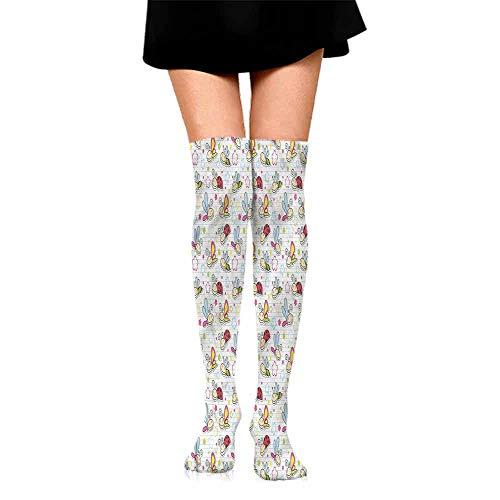 Funny Socks For Girl Nursery,Flower Dragonfly Bugs,socks for toddler boys non skid