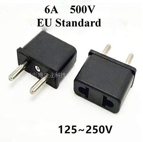 Gimax 1000pcs US USA To European Euro EU/Australian/US Standard Travel Charger Adapter Plug Outlet Converter Adapter…