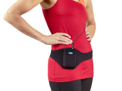 Tune Belt Original Vertical Microphone Carrier Belt - Securely Holds and Protects Mic Transmitters for Fitness Instructors, Theater, Presentations and more