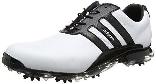 Adidas Adipure Classic Golf Schuhe Weiß (White/core Black/core Black)