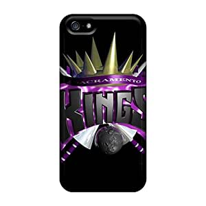 Awesome Sacramento Kings Flip Case With Fashion Design For Iphone 5/5s