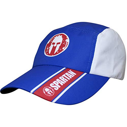 - Headsweats Performance Race Hat, Spartan Red White & Blue, One Size