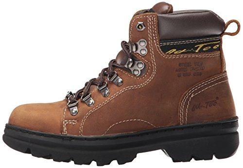 Adtec Men's 1977 6'' Steel Toe Hiker Work Boot, Brown, 8 W US by Adtec (Image #5)