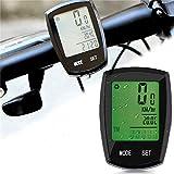 Thorfire Bike Computers, Wireless Bicycle Speedometer Waterproof Bike Odometer with LCD Display Cycle Computers, Auto & Multi-Function