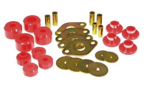 Prothane 18-103 Red Body Mount Kit ()