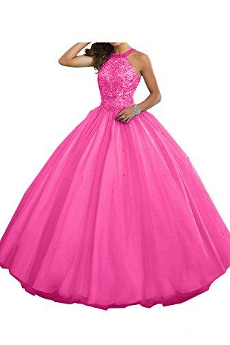 36 rosa trapecio Vestido Topkleider para mujer Sz01wFq