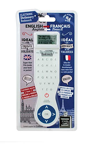 Electronic Dictionary Bookmark-French-English