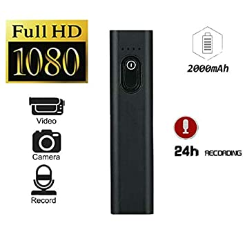 Hangang Mini cámara Oculta de espía Oculta, Full HD 1080P Cámaras S100 de Potencia móvil