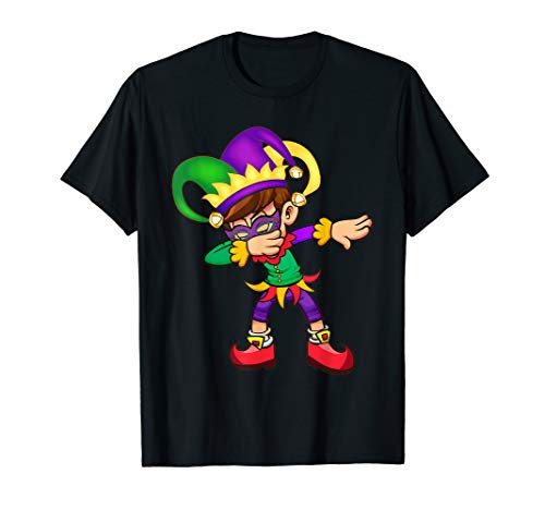 Mardi Gras New Orleans Funny Dabbing Shirt for men women kid -
