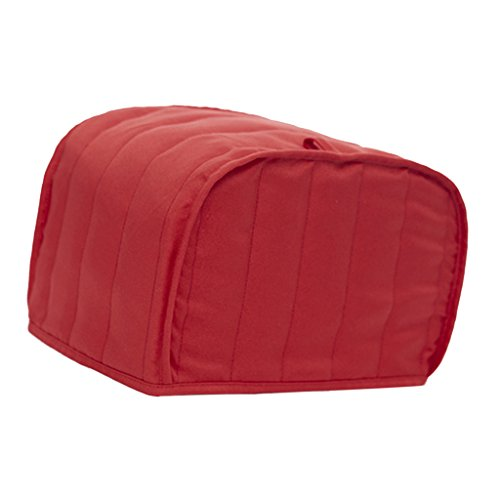 red 4 slice toaster cover - 4
