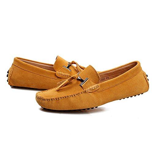 penny barca Yellow scarpe nappa Minitoo con mocassini scamosciati da qwnHn6PIU