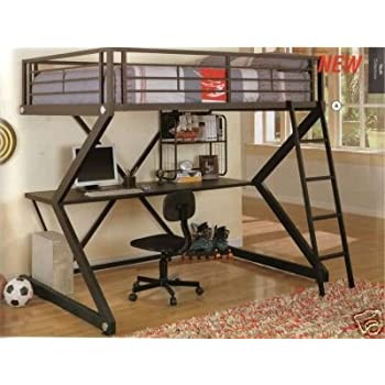 size underneath more pinteres with bed full loft pin desk foter