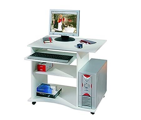 Links - Office 5 - Scrivania. Dim: 80x50x75 h cm. Col: Bianco. Mat: Nobilitato. 13300030 F00011901001