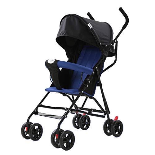 WYNZYYESTC Carro Plegable Para Bebés, Paraguas Semi-recostado Paraguas Multiusos Para Carros De Uso Adecuado Para Niños De...