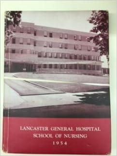 Lancaster General Hospital School of Nursing 1954: Lancaster