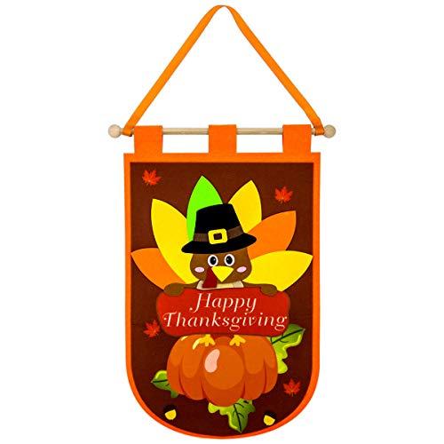 Thanksgiving Classroom Door Decorations - Thanksgiving Door Banner Felt Decor for