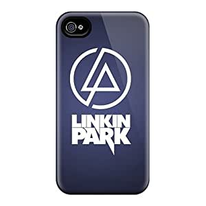 Iphone 4s Cases Covers - Slim Fit Tpu Protector Shock Absorbent Cases (linkin Park)