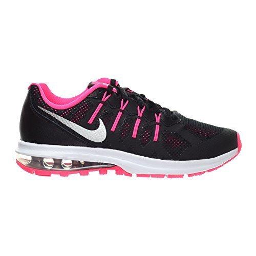 5c9e8afa1d62c Galleon - Nike Air Max Dynasty (GS) Big Kid s Shoes Black Metallic  Silver Hyper Pink Wolf Grey 820270-003 (7 M US)