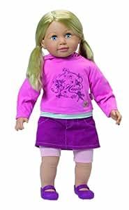 Zapf Creation - Sally Toddler: muñeca, 63 cm [Versión en inglés]