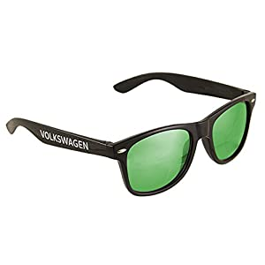 VW Volkswagen Genuine Mirrored Sunglasses (Green)