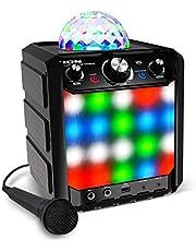 ION Audio Block Rocker Plus - 100W Draagbare Luidspreker op Batterijen, met FM-radio
