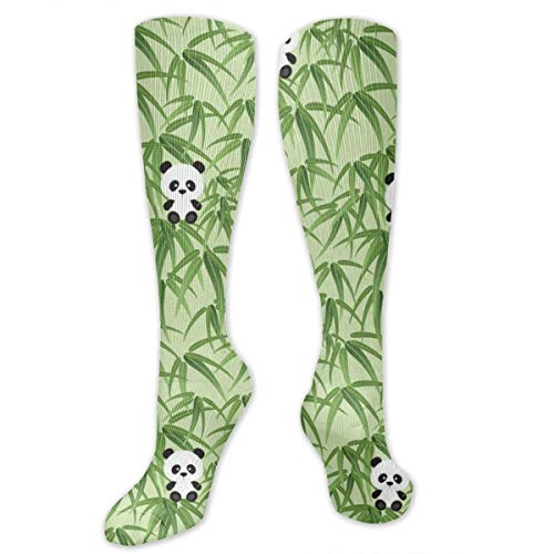 Unisex Little Panda Printed Funny Novelty Casual Cotton Socks ()