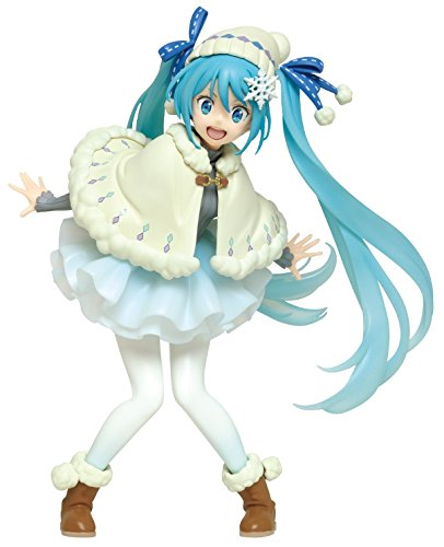 "Taito Original Winter Clothes 6.2"" Hatsune Miku Action Figure"