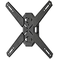 Kanto PS100 Tilting Mount for 26-inch to 60-inch TVs – For Square VESA Patterns 100x100, 200x200, 300x300 and 400x400