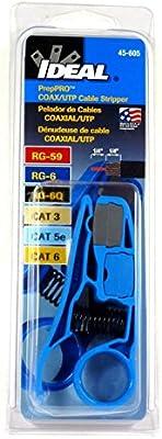 esaska (TM) 45 – 605 ideal preppro UTP Coaxial RG6/6Q/59 Cable pelacables: Amazon.es: Electrónica