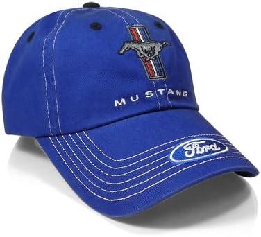 Ford Mustang Blue Baseball Cap