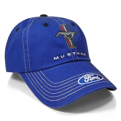 Ford Mustang Blue Baseball Cap