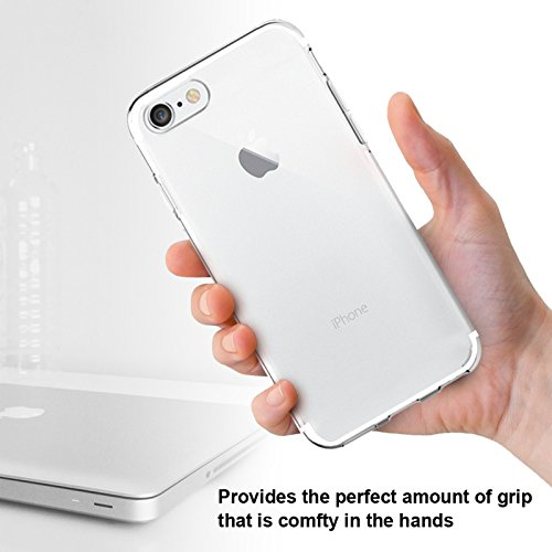 SAVFY Apple iPhone 7 Plus Schutzhülle Silikon Transparent Ultra dünn Crystal TPU Case