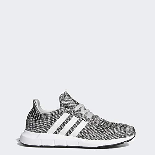 adidas Swift Run Shoes Kids', Grey, Size 6