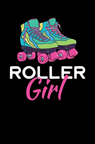 Roller Girl: College Ruled Lined Paper, 120 pages, 6x9 por NW Sports & Hobbies Printing