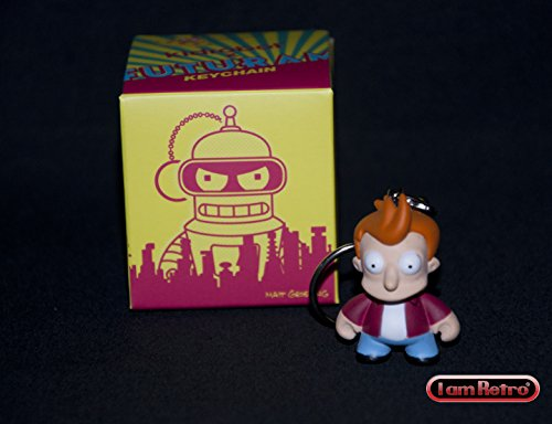 Fry From Futurama (Futurama Keychain Fry 1.5 inches - Box Opened to Identify Character from Blind Box - Rare Out of)