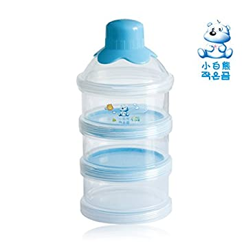 Amazon.com: 2pcs dispenser for baby food,baby container,food container baby, dispensador leche,Transparent milk box portable storage: Baby