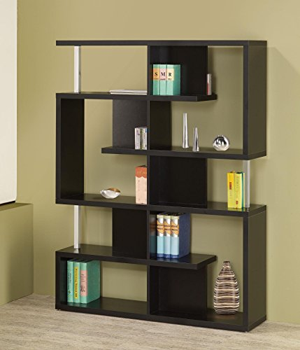 Tier Black Bookcase - 3