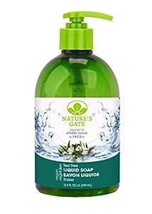 Nature's Gate Tea Tree Velvet Moisture Liquid Soap, 16-Ounce Bottles (Pack of 2)