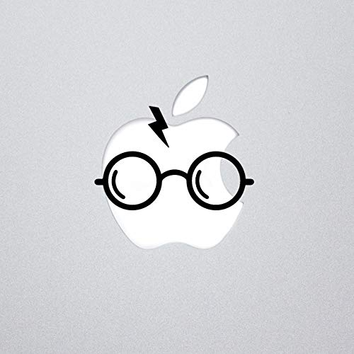 Harry Potter Inspired Glasses Mac Decal, Apple Mac, Laptop